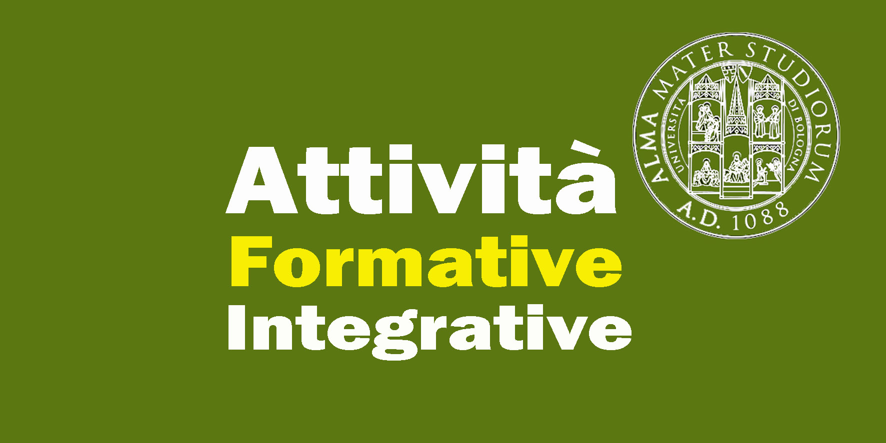ATTIVITÀ FORMATIVE INTEGRATIVE