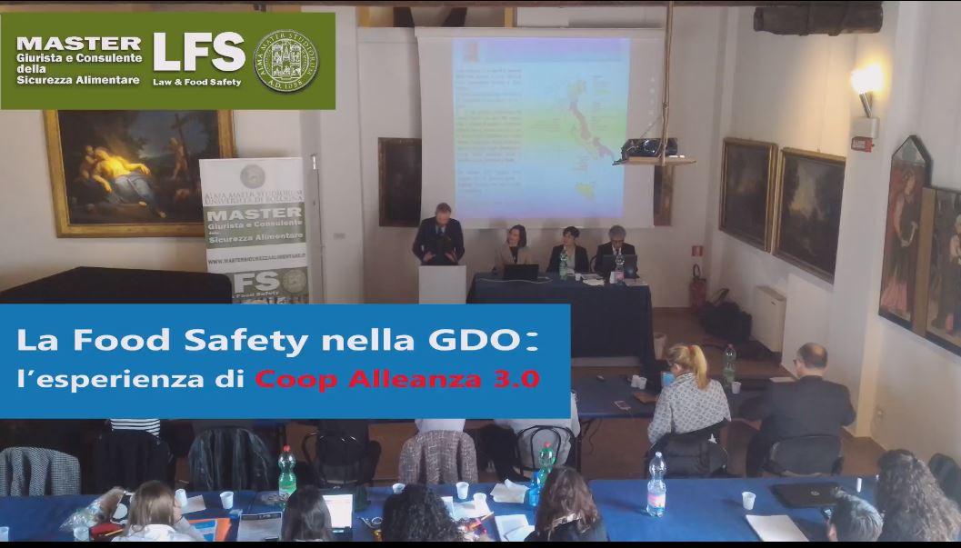 LA FOOD SAFETY NELLA GDO: L'ESPERIENZA DI COOP ALLEANZA 3.0 - 6 APRILE 2018
