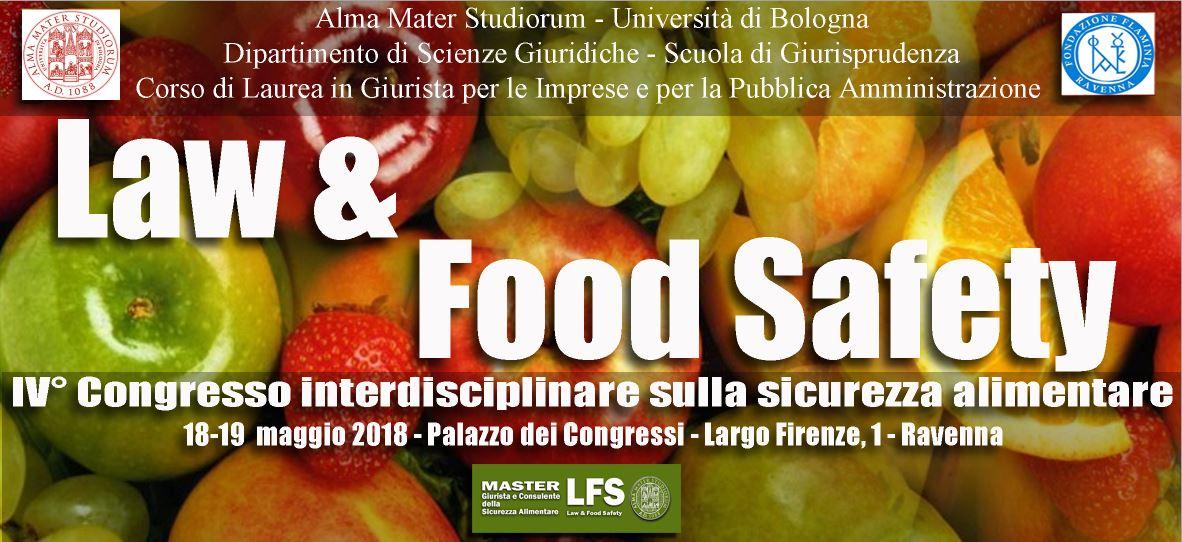 IV° Congresso Interdisciplinare sulla Sicurezza Alimentare