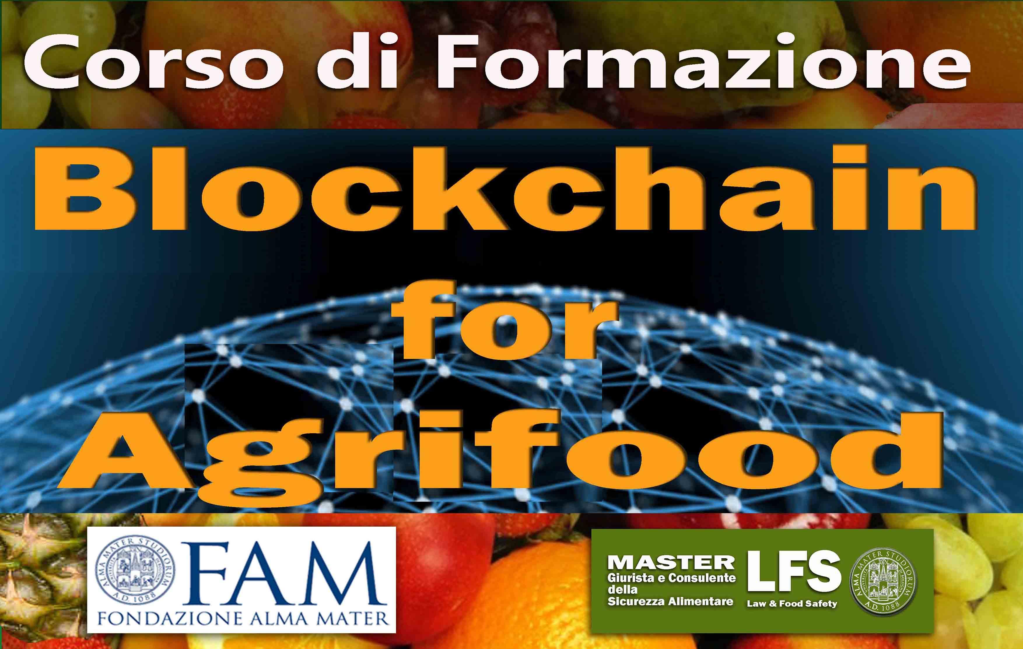 II EDIZIONE DEL CORSO DI FORMAZIONE BLOCKCHAIN FOR AGRIFOOD – 22-23 maggio 2020