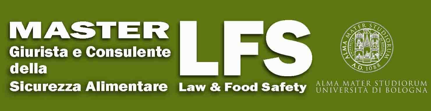 BANDO SESTA EDIZIONE  a.a. 2021/2022 DEL MASTER GIURISTA E CONSULENTE DELLA SICUREZZA ALIMENTARE (LAW AND FOOD SAFETY)